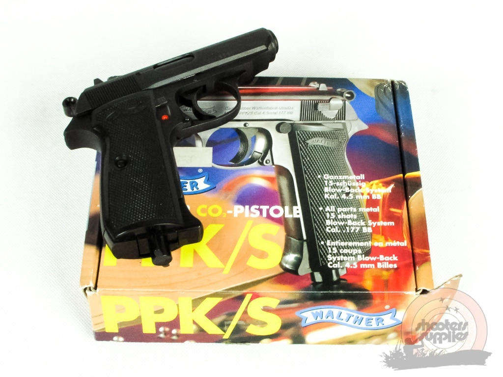 Walther CO2 Pistol PPK/S
